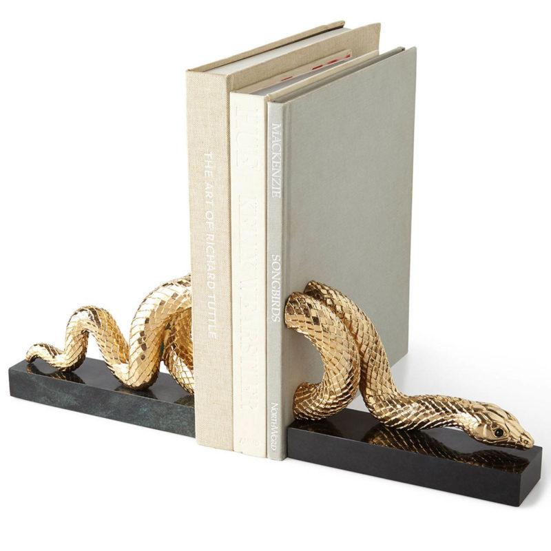 Gouden boekensteun