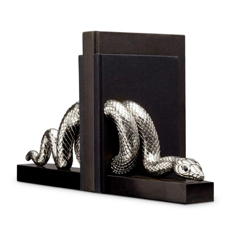 Boekensteun slang platinum